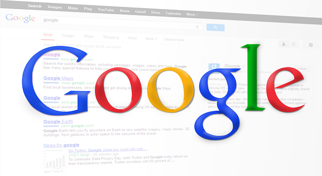 výsledky hledání google prohlížeč