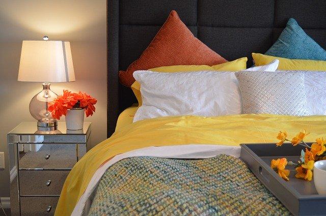 polštář, deka, matrace