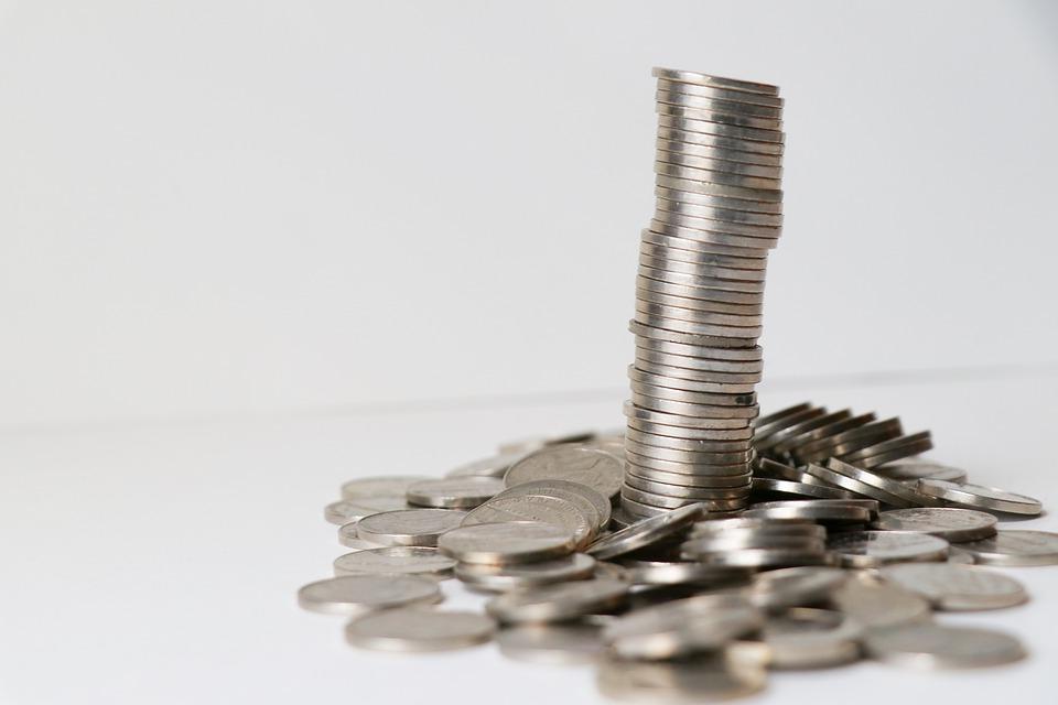 mince vysypané