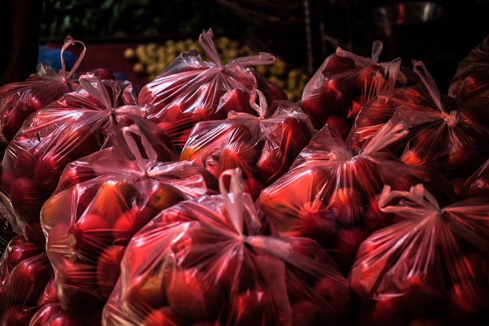 ovoce v pytlíku